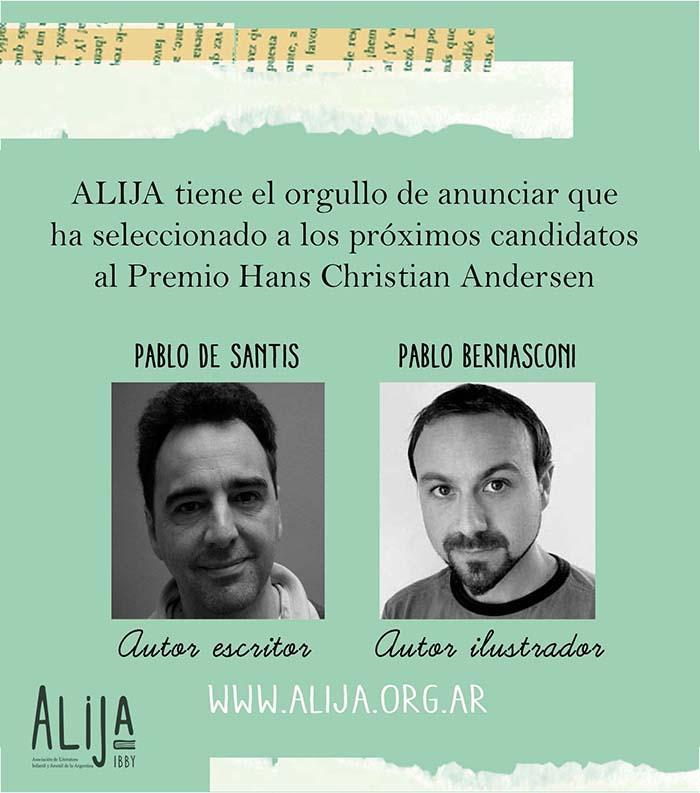 ALIJA - Candidatos a Premios Andersen 2016